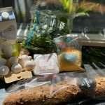 Brood met ei en spinazie uit de oven