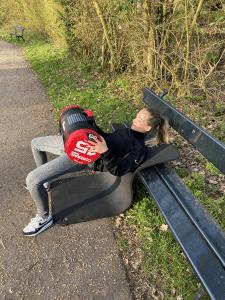Buiten billen trainen met hip thrust